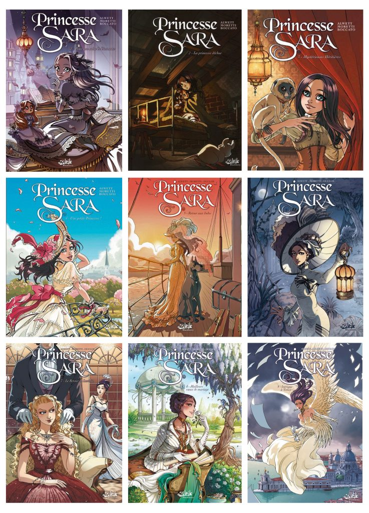 Princesse Sara COVERS
